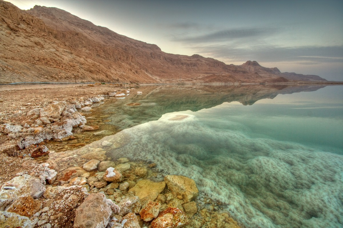 Het heilzame water uit de Dode Zee als basis voor het Minus 417 gamma.